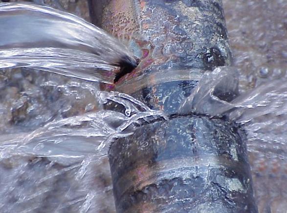 Leaking Water Pipe