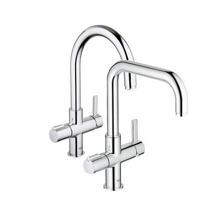 boiling water tap grohe red